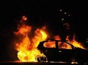 Spłonął samochód, kierowca miał 3 promile